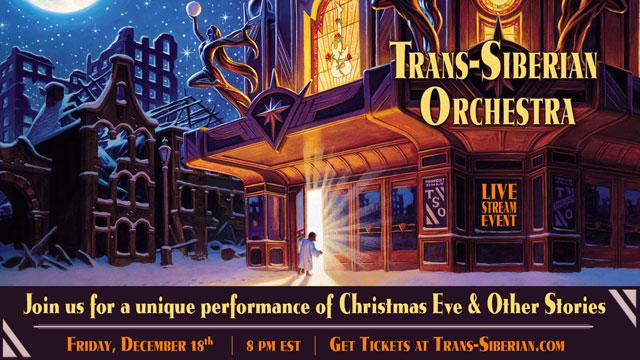 Trans-Siberian Orchestra Livestream Event