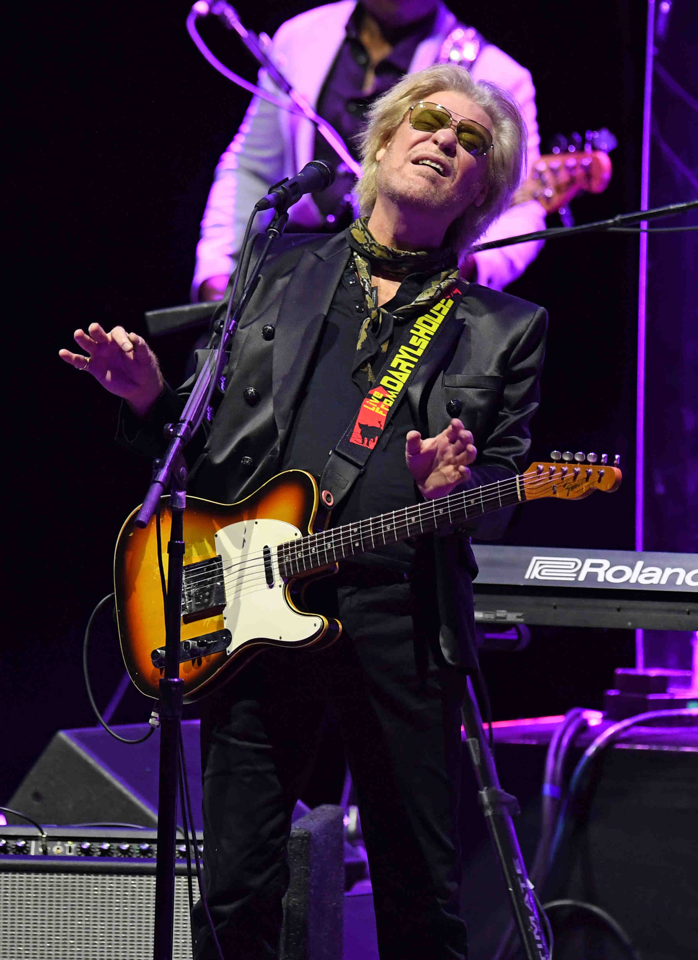Daryl Hall of Hall and Oates performs at Seminole Hard Rock Hotel & Casino.