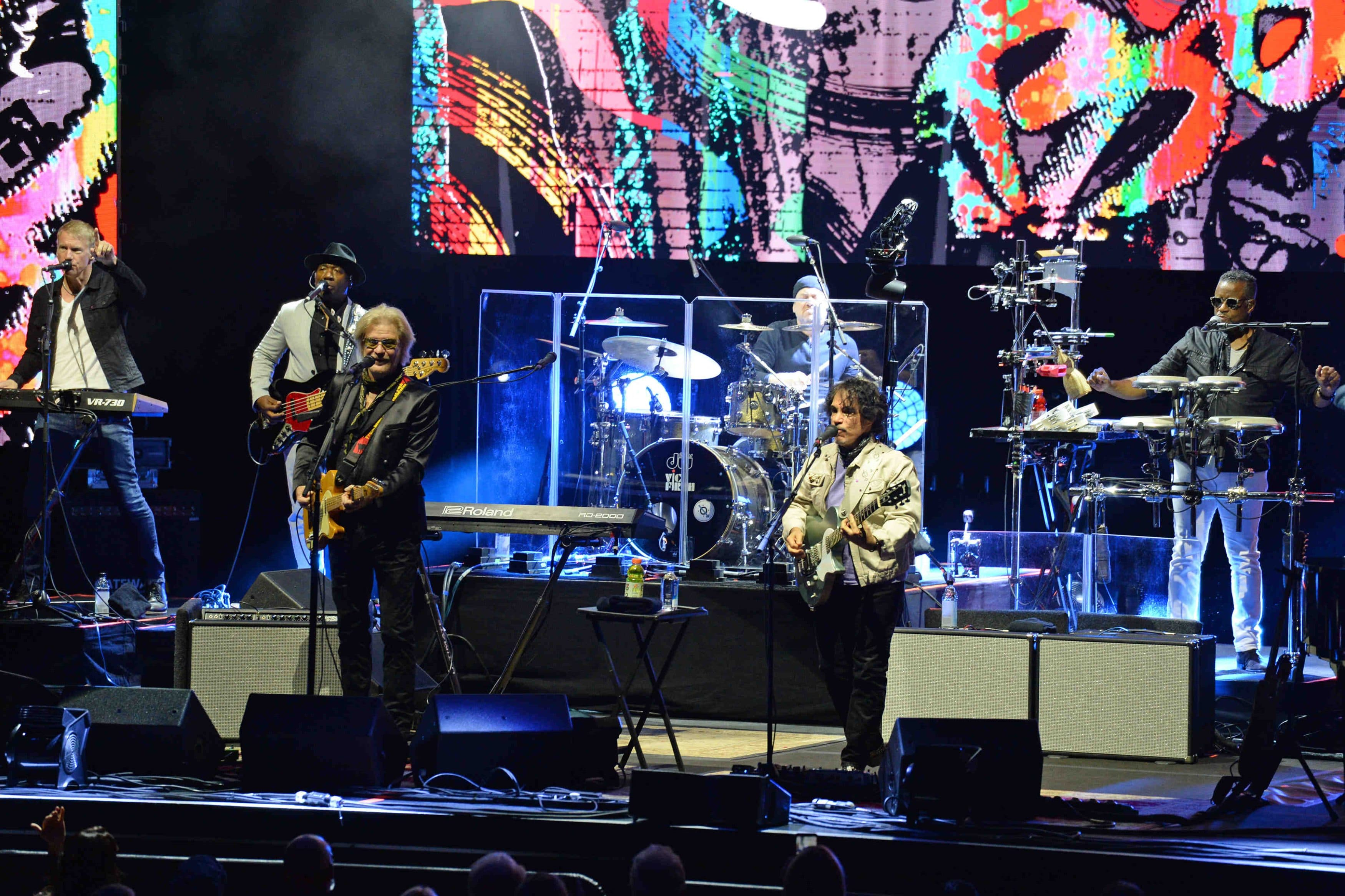 Hall and Oates in concert at Seminole Hard Rock Hotel & Casino.