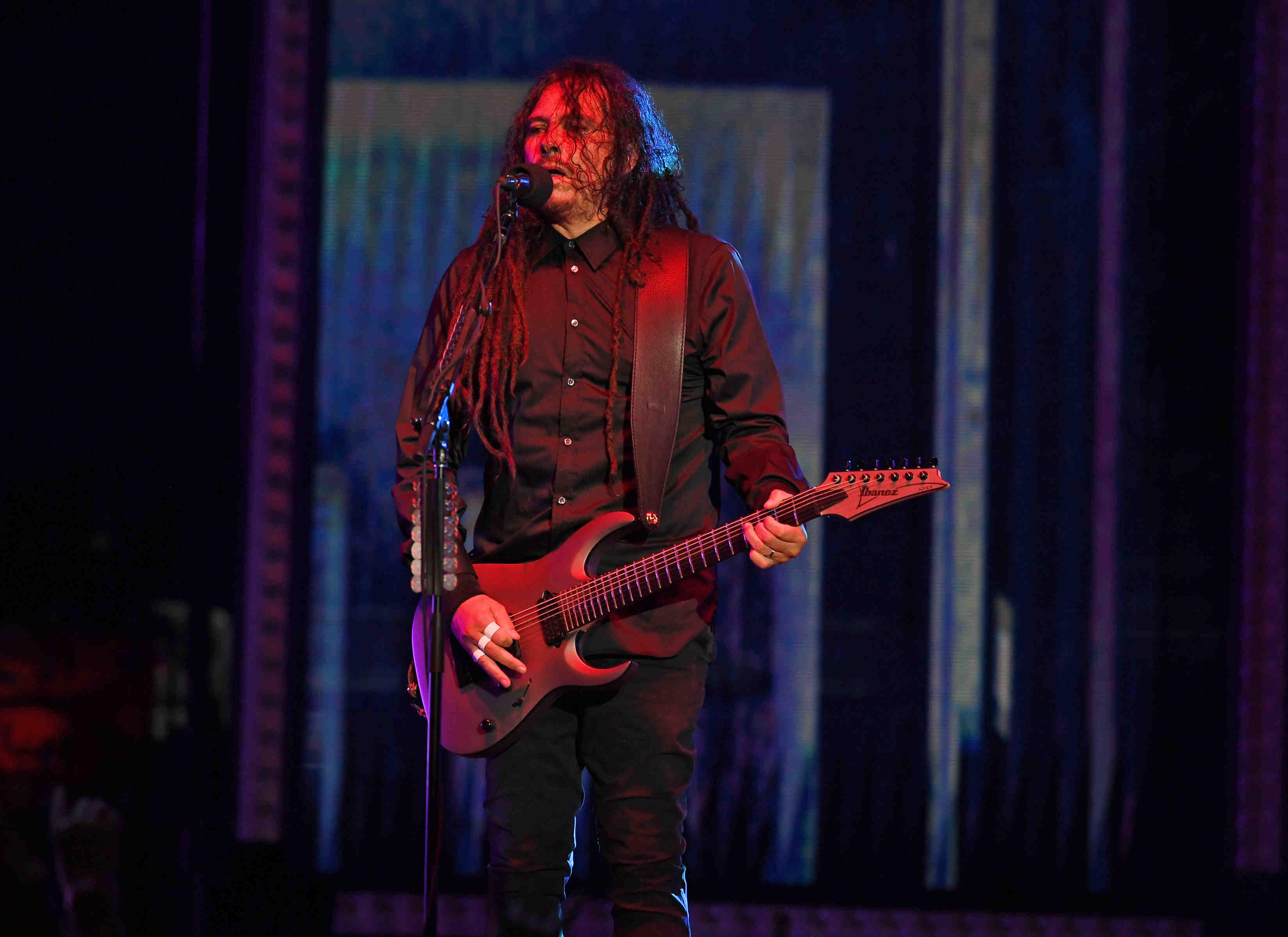 Korn Tour 2021 in West Palm Beach, Florida.